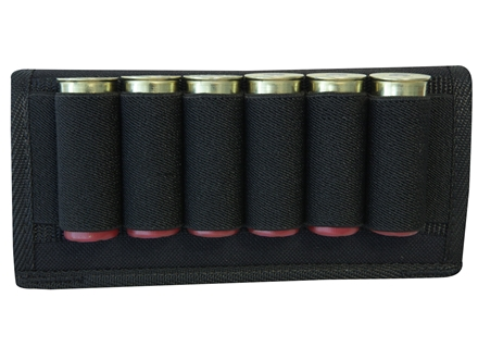 MidwayUSA Belt Slide Ammunition Carrier Nylon Black