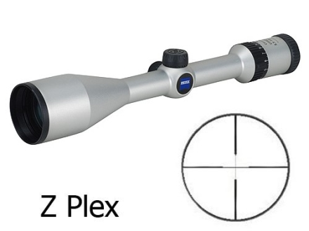 Zeiss MC Conquest Rifle Scope 3.5-10x 50mm Z-Plex Reticle Silver