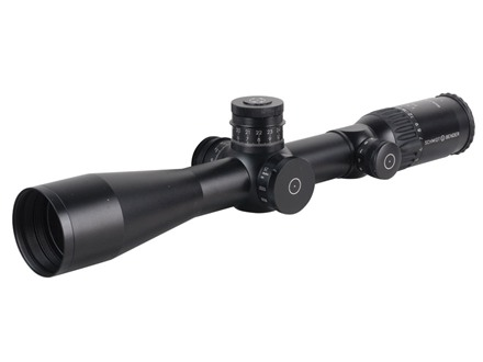 Schmidt & Bender Police Marksman II Rifle Scope 34mm Tube 4-16x 50mm Side Focus 1/10 Mil Adjustments First Focal Illuminated P-4 Fine Reticle Matte