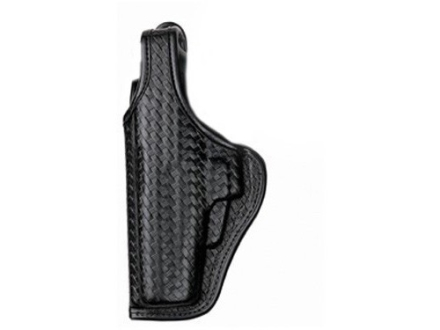 Bianchi 7920 AccuMold Elite Defender 2 Holster Left Hand S&W 411, 909, 1076, 3904, 4006, 5904 Basketweave Nylon Black