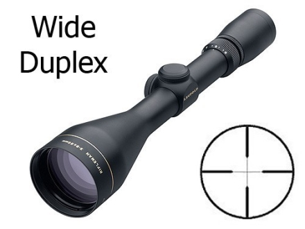 Leupold Rifleman Rifle Scope 3-9x 50mm Wide Duplex Reticle Matte Blemished