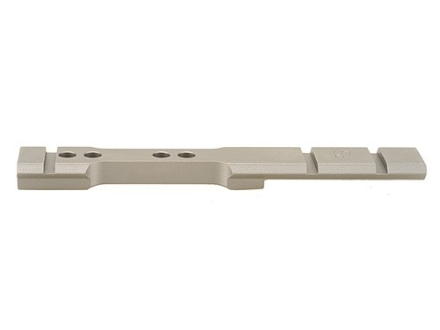 Stratton Custom TC Accessories Weaver-Style 4-Hole Standard Scope Base Thompson Center Encore Steel Silver Matte