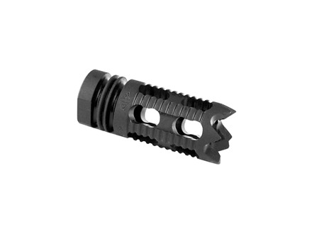 "Yankee Hill Machine Muzzle Brake Phantom 5M1 1/2""-36 Thread AR-15 6.8mm Steel Parkerized"