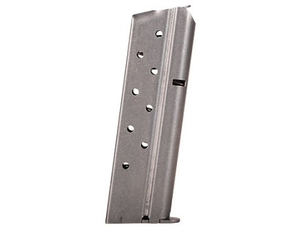 Metalform Magazine 1911 Government, Commander 38 Super 9-Round Stainless Steel Flat Follower Welded Base