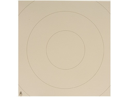 NRA Official Action Pistol Targets Repair Center D-1C 10, 15, 20, 25, 35 Yard Bianchi Cup Tagboard Package of 100