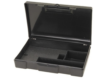 "MTM Long Term Pistol Storage Case 10.2"" x 7.2"" x 2.2"" Plastic Black"