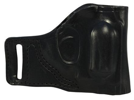 DeSantis E-GAT Outside the Waistband Slide Holster Right Hand Smith & Wesson J-Frame Leather Black
