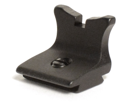 "Williams Rear Sight Blade Square Notch 3/8"" Height Aluminum Black"