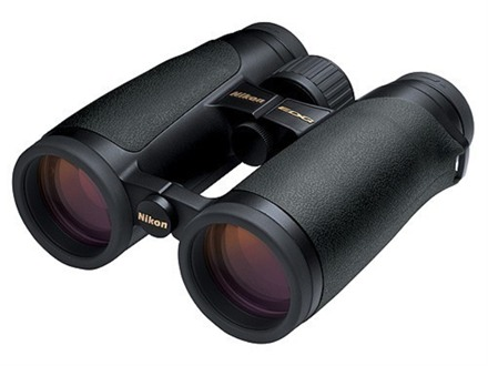 Nikon EDG Binocular 8x 42mm Roof Prism Armored Black Factory Reconditioned