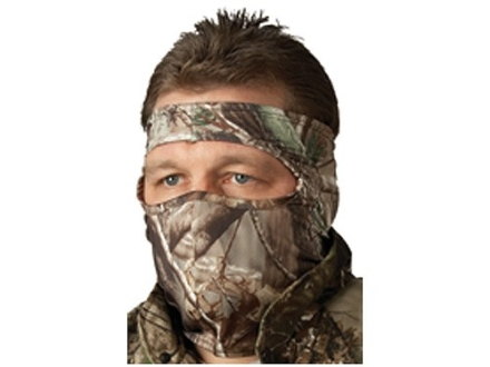 Hunter's Specialties Spandex 3/4 Face Mask Polyester Realtree AP Camo