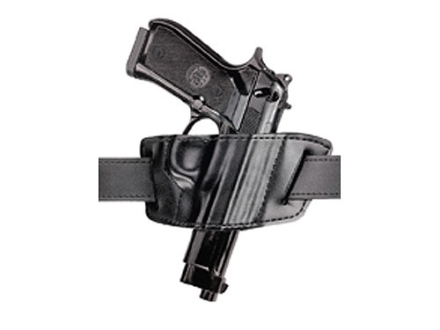 "Safariland 527 Belt Holster Right Hand Colt Python, Trooper, Ruger GP100, Speed Six, S&W K-Frame, Taurus 66, 669, 689 4"" Barrel Laminate Black"