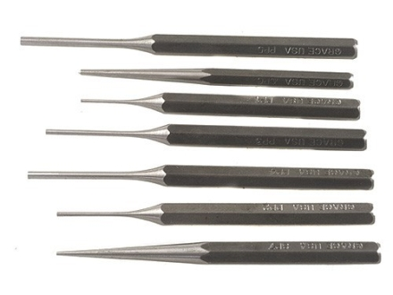 Grace USA Punch Set 7-Piece Steel