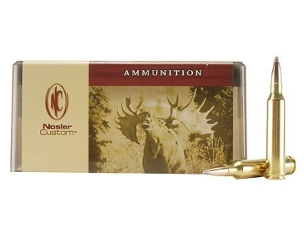 Nosler Custom Ammunition 7mm Remington Magnum 175 Grain Partition Spitzer Box of 20