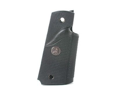 Pachmayr Signature Grips 1911 Government, Commander with Sculptured Thumb Reduction Rubber Black