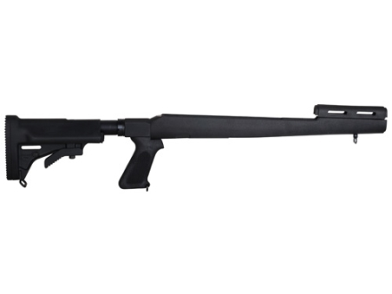 Choate 5-Position Collapsible Rifle Stock with Pistol Grip SKS Synthetic Black