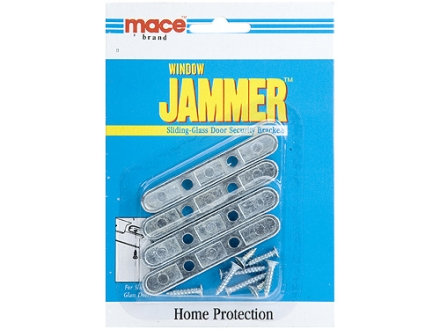 Mace Brand Sliding Glass Door Security Brackets Home Security Steel