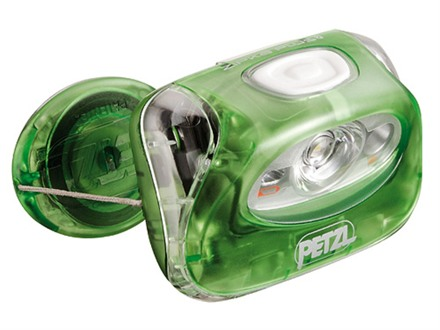 Petzl Zipka Plus 2 Headlamp White LED with Batteries (LR03) Polymer Red