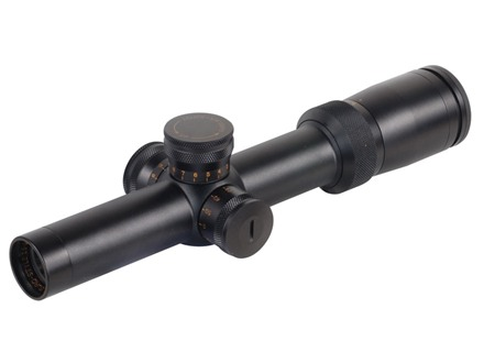 Weaver Super Slam Euro Style Rifle Scope 30mm Tube 1.5-6x 24mm First Focal Illuminated German #4 Reticle Matte