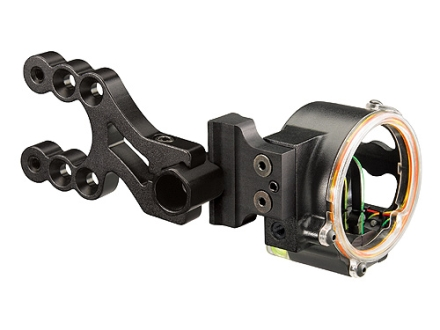 "Trophy Ridge Fire Wire V3 3-Pin Bow Sight .019"" Pin Diameter Right Hand Aluminum Black"