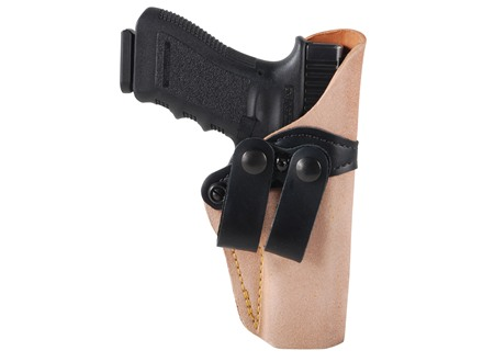 Gould & Goodrich Inside the Waistband Holster Right Hand Glock 17, 22, 31 Leather Tan