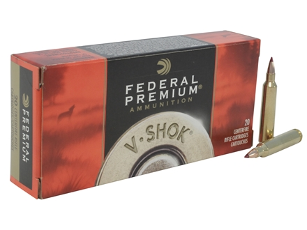 Federal Premium V-Shok Ammunition 204 Ruger 40 Grain Nosler Ballistic Tip Box of 20