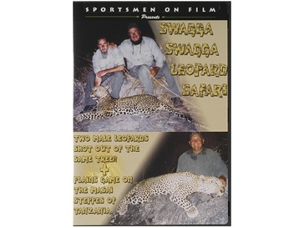 "Sportsmen on Film Video ""Swagga Swagga Leopard Safari"" DVD"