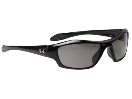 Under Armour Impulse Sunglasses Polymer Black Frame Gray Lenses