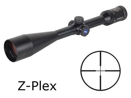 Zeiss MC Conquest Rifle Scope 6.5-20x 50mm Side Focus Z-Plex Reticle Matte