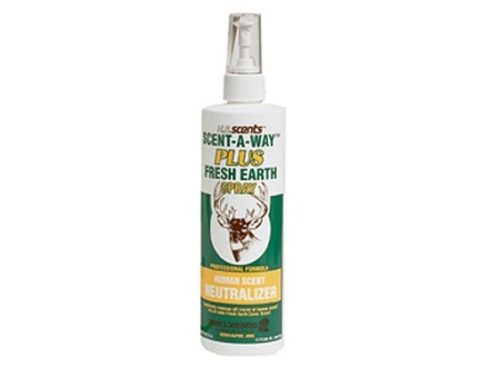 Hunter's Specialties Scent-A-Way Scent Eliminator Spray with Quad Action Liquid