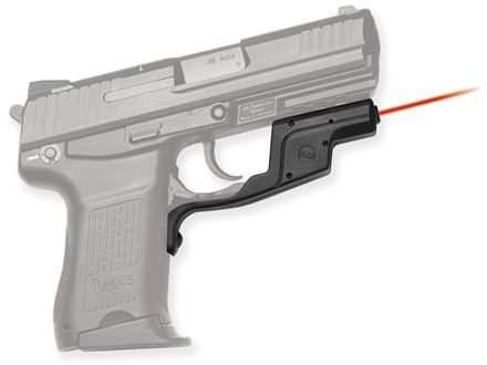Crimson Trace Laserguard Heckler and Kock, HK45C Polymer Black