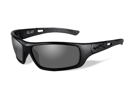 Wiley X Slay Polarized Sunglasses Smoke Gray Lens