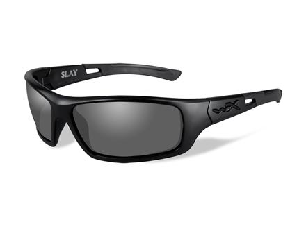 Wiley X Slay Polarized Sunglasses Smoke Gray Lens