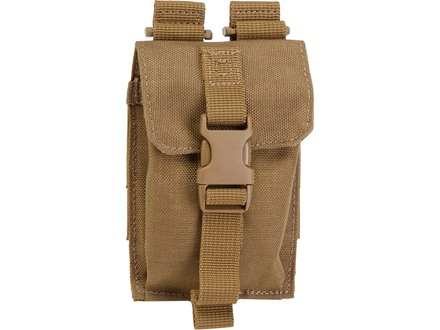 5.11 Strobe/GPS Pouch Nylon Flat Dark Earth