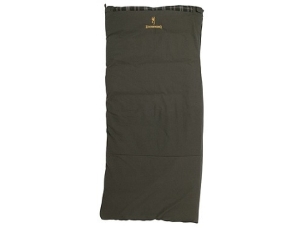 Browning Kobuk Sleeping Bag 30 Degree 40 X 82 Cotton Duck