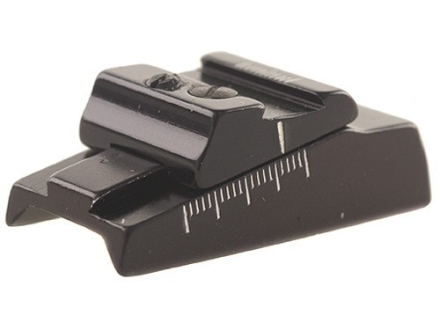 "Williams WGOS-Octagon-CVA Open Sight Less Blade Fits Octagon Barrels 15/16"" and 1"" with Dovetail Cut Aluminum Black"