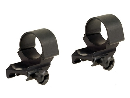 "Weaver 1"" Top-Mount Dual Extended Rings Matte High"