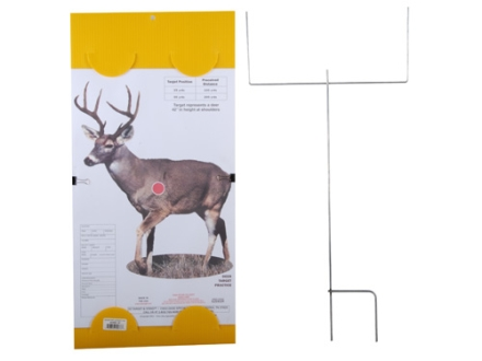 "EZ Target Deer Master Pack Target 14"" x 18"" Paper Package of 15 with Stand and Backer"