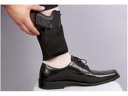DeSantis Apache Ankle Holster Medium Frame Semi-Automatic Nylon Black