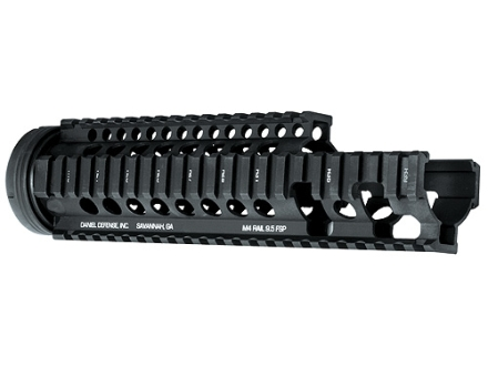 Daniel Defense M4 9.5 FSP Free Float Tube Handguard Quad Rail AR-15 Extended Carbine Length Aluminum Black