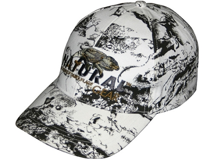 Natural Gear 6 Panel Logo Cap