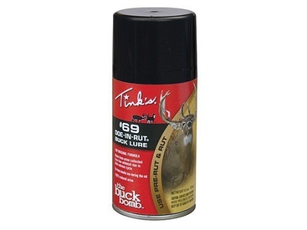 Tink's #69 Doe-in-Rut Buck Bomb Deer Scent Aerosol 4.5 oz