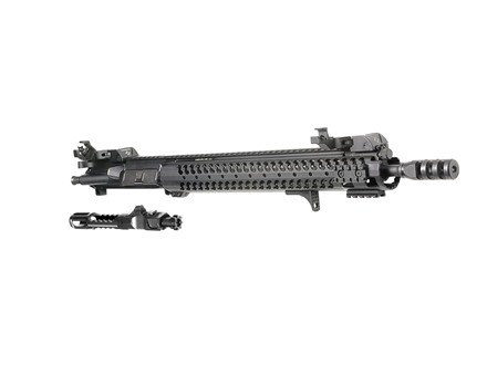"Adams Arms AR-15 A3 C.O.R. Ultra Lite Rifle Length Gas Piston Upper Assembly 5.56x45mm NATO 1 in 7"" Twist 16.5"" VDI LifeCoat Barrel with 12"" Samson Evo Rail, VDI Jet Comp Muzzle Brake"