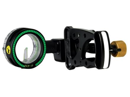 """Trophy Ridge Drive 1-Pin Bow Sight .029"""" Pin Diameter Aluminum Black"""