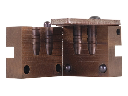 Saeco 2-Cavity Bullet Mold #395 38 Special, 357 Magnum (358 Diameter) 200 Grain Truncated Cone Gas Check
