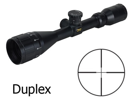 BSA Sweet 30-06 Big Game Rifle Scope 3-10x 44mm Adjustable Objective Duplex Reticle Matte