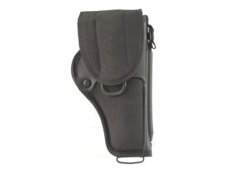 "Bianchi UM84-R Universal Military Holster Medium, Large Frame Revolver 4"" Barrel Nylon Black"
