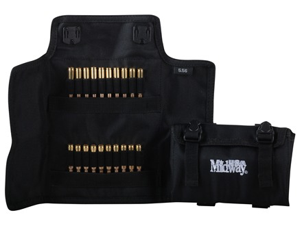 MidwayUSA Folding Rifle Ammunition Case MOLLE Compatible Nylon
