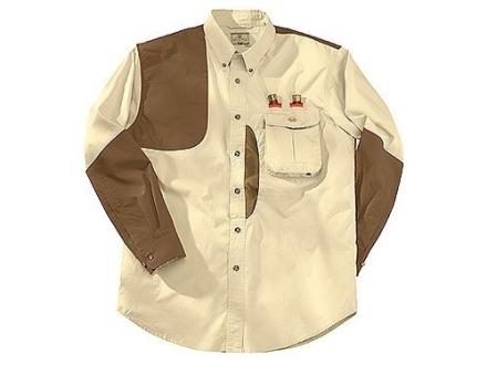Beretta Mens Front Loading Shooting Shirt Long Sleeve Cotton and Cordura