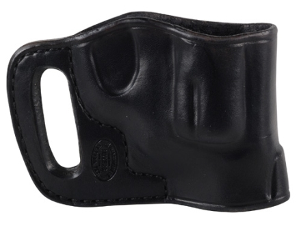 El Paso Saddlery Combat Express Belt Slide Holster Right Hand Smith & Wesson J-Frame Leather Black