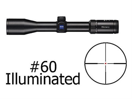 Zeiss VariPoint VM/V Rifle Scope 30mm Tube 1.5-6x 42mm First Focal Illuminated #60 Reticle Matte Factory Blemished